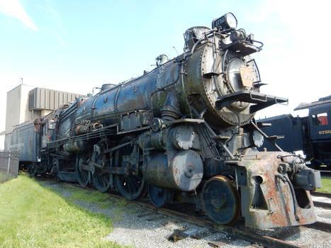 PRR K4 Pacific 3750 at Strasburg DSCN6030