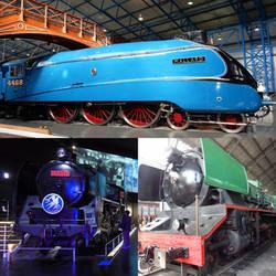 LNER 4468 Mallard, JNR C62.17 and RENFE 242F-2009