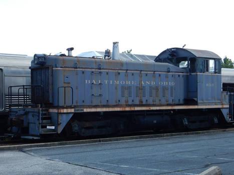 Baltimore and Ohio EMD DS-20E 633