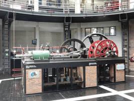 Solvay 1915 Liegeoise Steam Engine DSCN8790