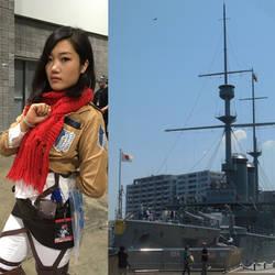 Mikasa and Mikasa