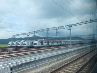 Hong Kong MTR Hyundai Rotems at Yulchon DSCN7723