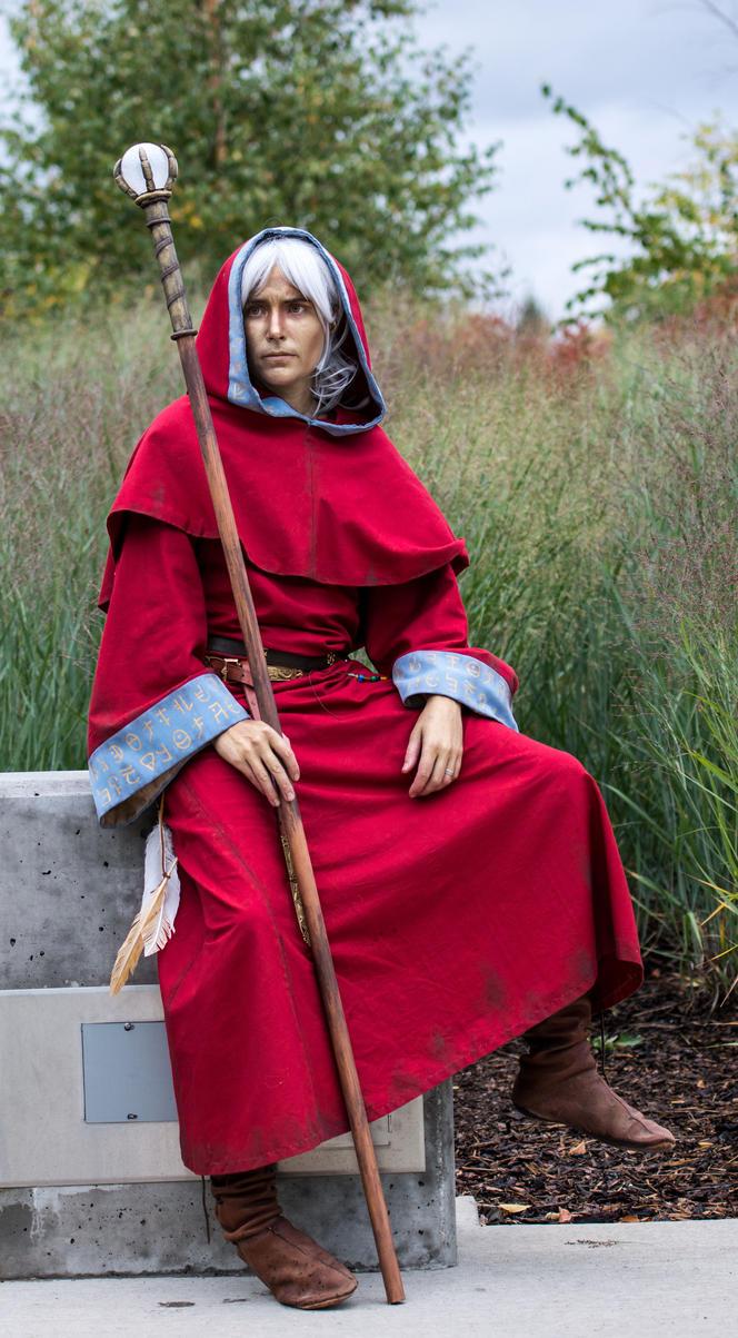 Raistlin Majere - Staff of Magius by ColonelLiamRoss