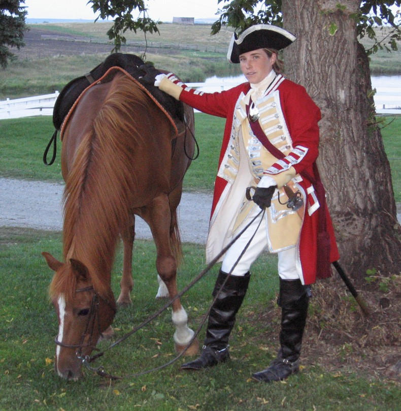 1750s Major's Uniform II by ColonelLiamRoss