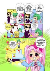 Mitsume Temo pilot manga - page 13 by Takisse