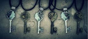 Baby Tardis Keys by PrincessSongBird