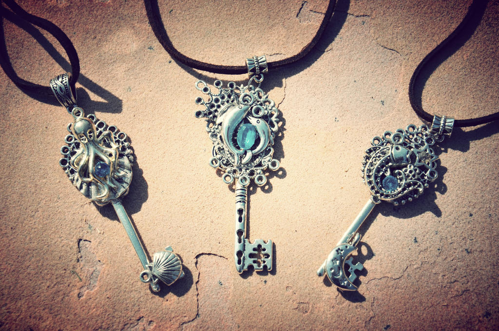 Sea Keys by PrincessSongBird
