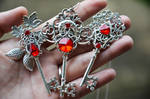 A Trio of Crimson things