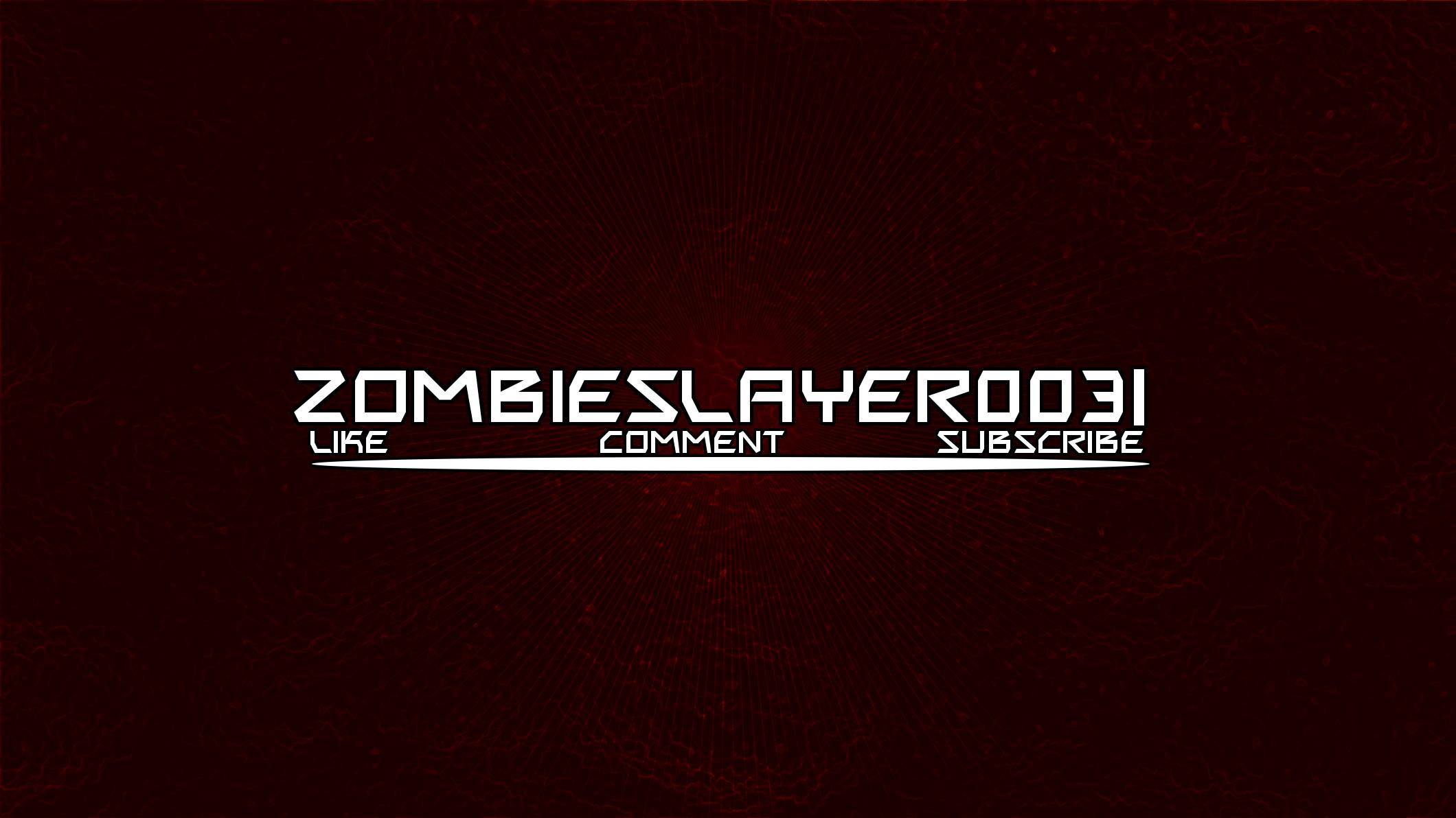 ZombieSlayer0031 - Custom Channel Art by EverBadDesigns on DeviantArt