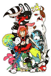 Colorfull Monsters by pesadilla-project