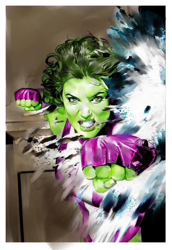 she hulk practise color by videsh