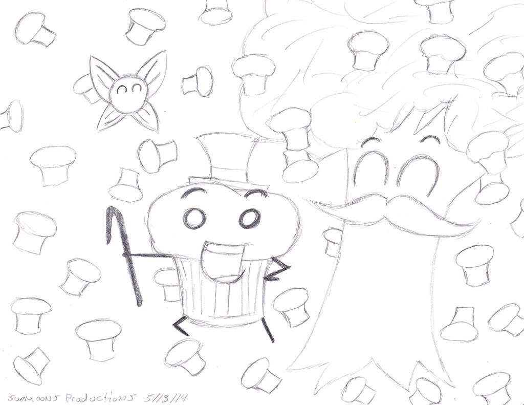 Xanauzumaki's Navi Muffin Time!! by Suemoons