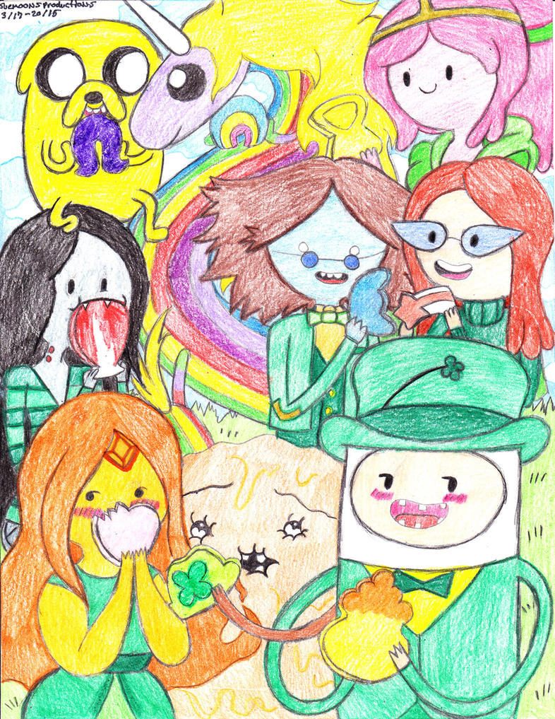 Happy St. Patricks Day by Suemoons