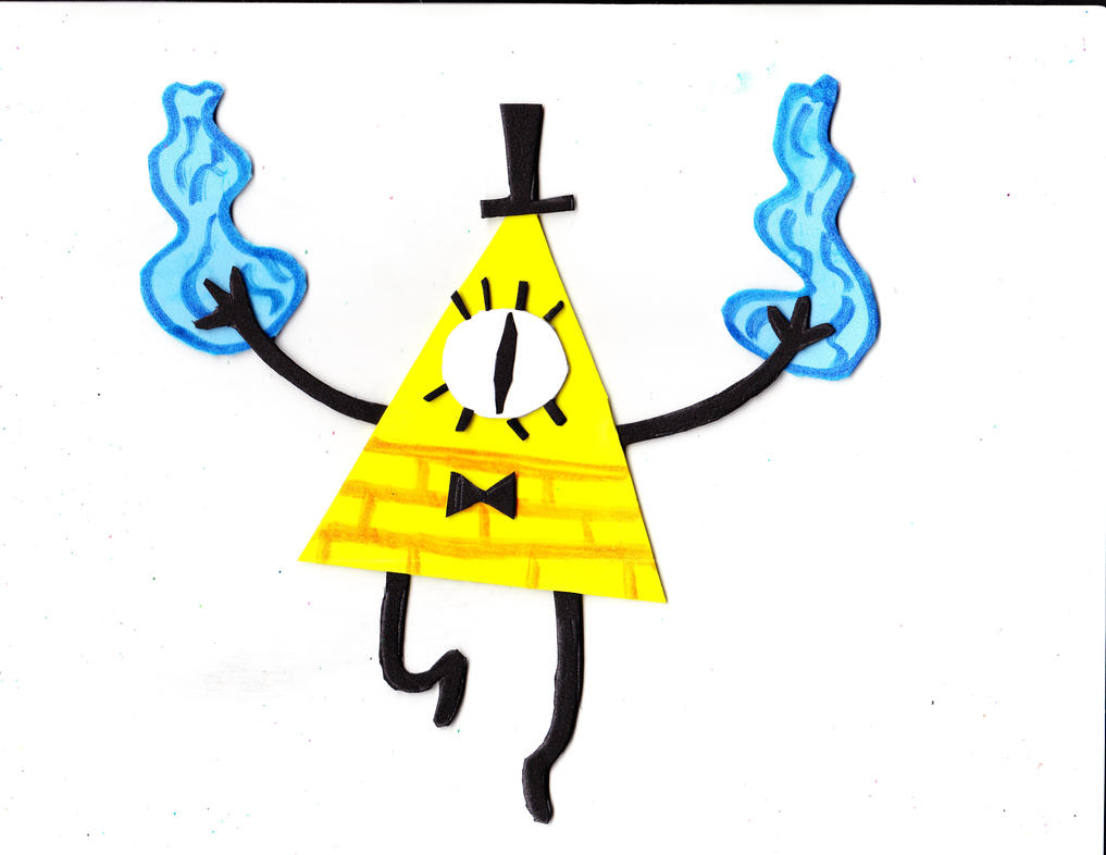 Bill Cipher's Deal Fire by Suemoons