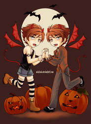 Devil Twins by Mintonia