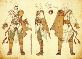 Ezio Auditore -turnaround- by Mintonia