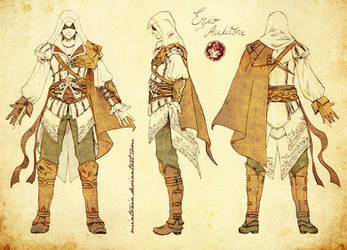 Ezio Auditore -turnaround- by Mintonia