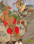 Battle The Beast Commission by readlliea