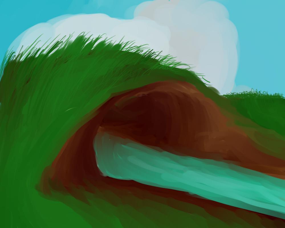 Grassy Null by Kuejena