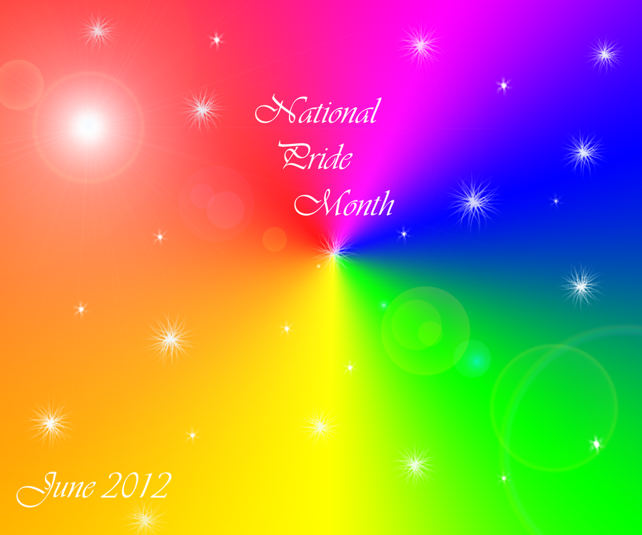 National Pride Month by Kuejena