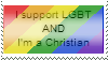 LGBT Christian Stamp by Kuejena