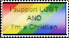 LGBT Christian Stamp by Kuejena