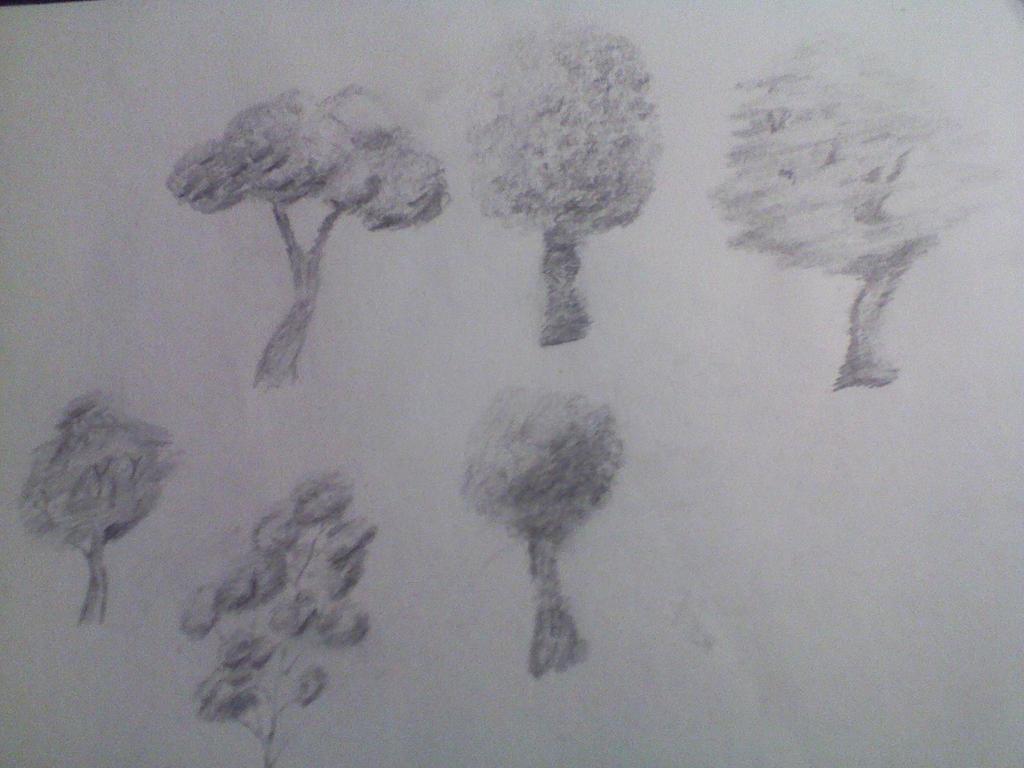 Trees by Kuejena