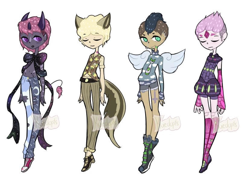 More Male Adopts [CLOSED] by Kuejena