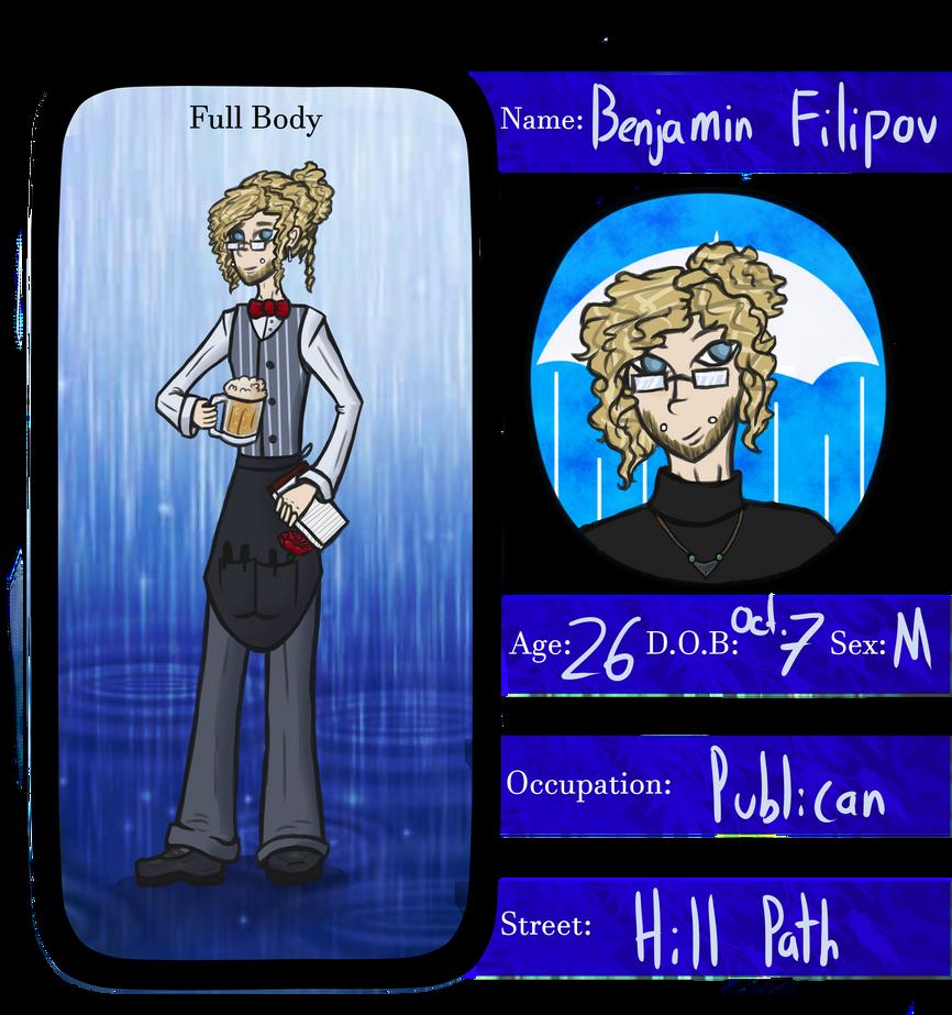 Benji Rainy Days App by Kuejena