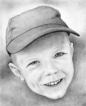 Portrait of son 2
