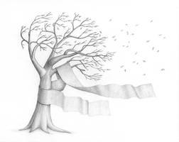 Tree in the wind 1 - wip 4