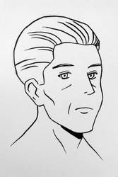 Manga face practice - Adult 3/4 view