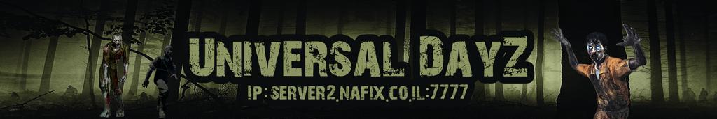 Universal DayZ Banner