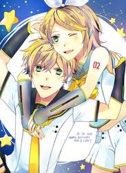 Rin Len Birthday 2016 by nitarin