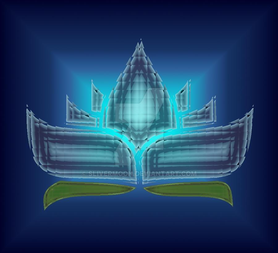 Blue Crystal Lotus