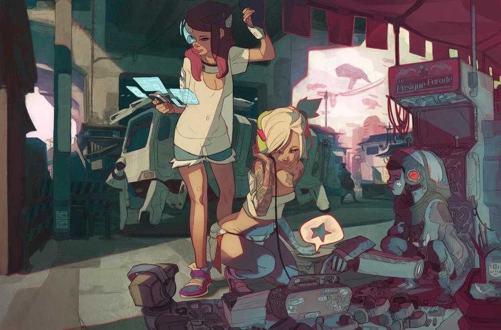 The Retro of Tomorrow by Brosa