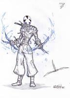Ak'ha warrior 1-8 by Stachir