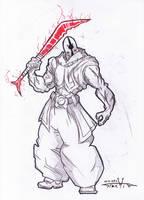 Ak'ha warrior 2-8 by Stachir