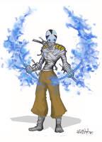 Ak'ha warrior 1-8 color by Stachir