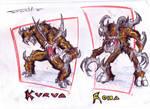comic characters: Kurua Roha