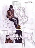 comic characters: Marek 03 by Stachir