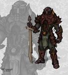 random warrior style-2 by Stachir