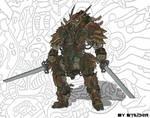 samurai 006 by Stachir
