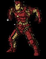 my IronMan by Stachir