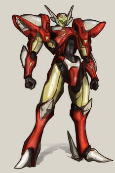 Tekkaman Tony Stark