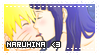 NaruHina stamp by AloiIchigo