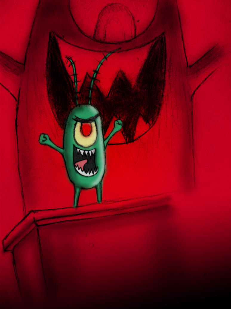 Big Evil Plankton by Shawneigh on DeviantArt