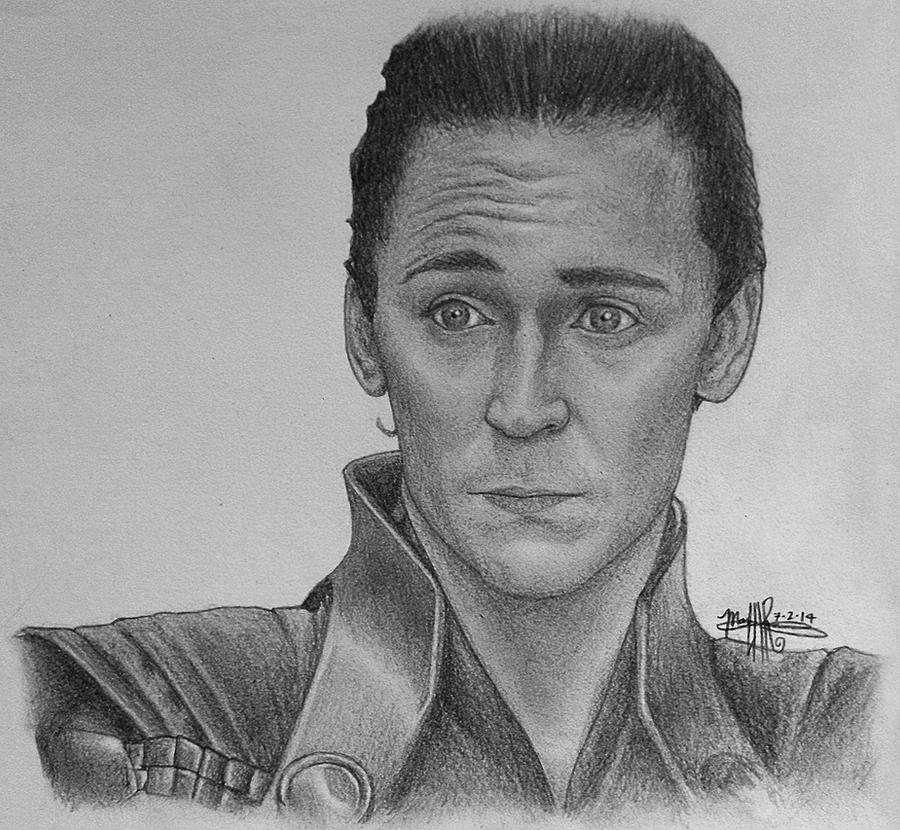 Loki (BW) by Shawneigh