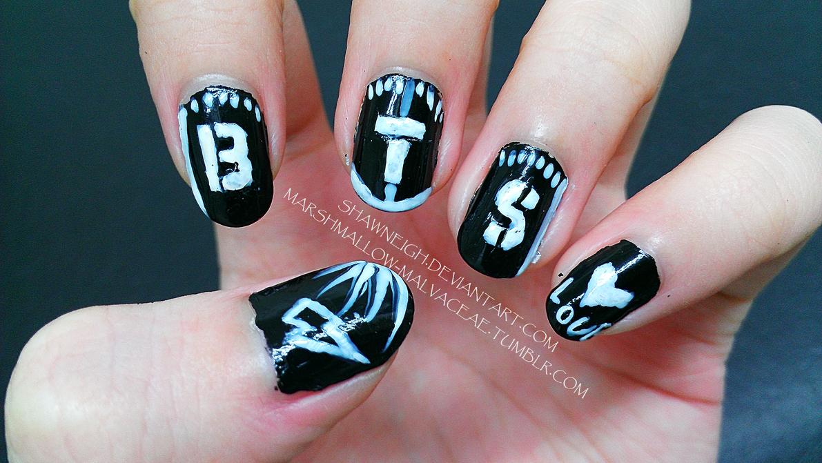 BTS LOVE Nails! by Lawleighette on DeviantArt