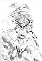 Supergirl by Fredbenes